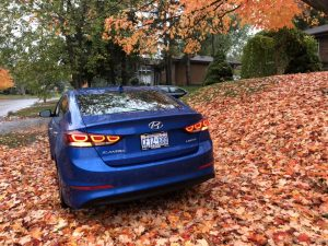 Hyundai elantra interior Review