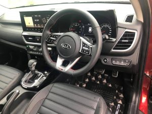 Kia seltos interior review