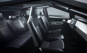 Tesla cybertruck interior review